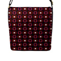 Cute Pretty Elegant Pattern Flap Closure Messenger Bag (large)