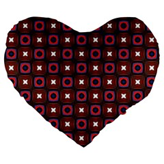 Cute Pretty Elegant Pattern 19  Premium Flano Heart Shape Cushion