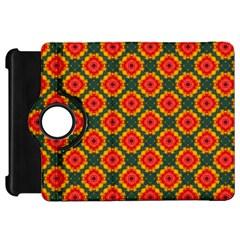 Cute Pretty Elegant Pattern Kindle Fire Hd Flip 360 Case
