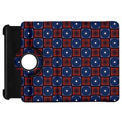 Cute Pretty Elegant Pattern Kindle Fire Hd Flip 360 Case