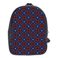 Cute Pretty Elegant Pattern School Bag (xl)