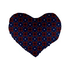 Cute Pretty Elegant Pattern 16  Premium Flano Heart Shape Cushion