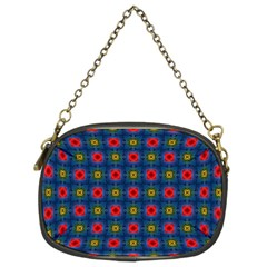 Cute Pretty Elegant Pattern Chain Purse (two Sided)