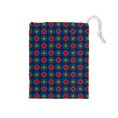 Cute Pretty Elegant Pattern Drawstring Pouch (medium)