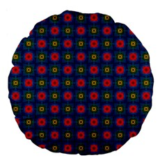 Cute Pretty Elegant Pattern 18  Premium Flano Round Cushion