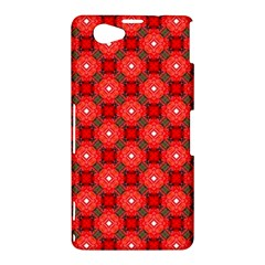 Cute Pretty Elegant Pattern Sony Xperia Z1 Compact Hardshell Case