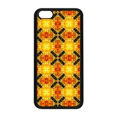Cute Pretty Elegant Pattern Apple Iphone 5c Seamless Case (black)
