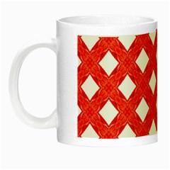 Cute Pretty Elegant Pattern Glow In The Dark Mug