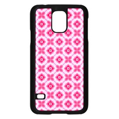 Cute Pretty Elegant Pattern Samsung Galaxy S5 Case (Black)