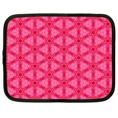 Cute Pretty Elegant Pattern Netbook Sleeve (large)