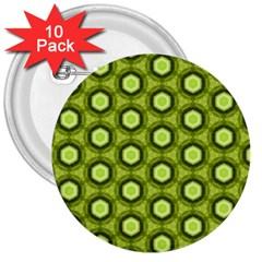 Cute Pretty Elegant Pattern 3  Button (10 Pack)