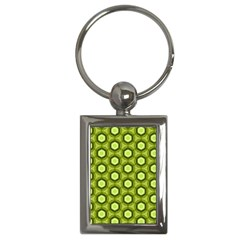 Cute Pretty Elegant Pattern Key Chain (rectangle)
