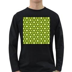 Cute Pretty Elegant Pattern Men s Long Sleeve T Shirt (dark Colored)