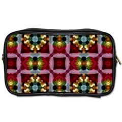 Cute Pretty Elegant Pattern Travel Toiletry Bag (one Side)