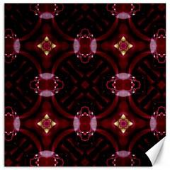 Cute Pretty Elegant Pattern Canvas 12  X 12  (unframed)