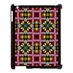Cute Pretty Elegant Pattern Apple Ipad 3/4 Case (black)