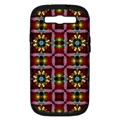 Cute Pretty Elegant Pattern Samsung Galaxy S Iii Hardshell Case (pc+silicone)