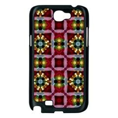 Cute Pretty Elegant Pattern Samsung Galaxy Note 2 Case (Black)