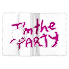 I Am The Party Typographic Design Quote Kindle Fire HDX Flip 360 Case