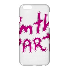 I Am The Party Typographic Design Quote Apple Iphone 6 Plus Hardshell Case
