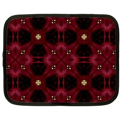 Cute Pretty Elegant Pattern Netbook Sleeve (large)