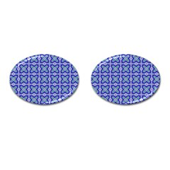 Cute Pretty Elegant Pattern Cufflinks (oval)