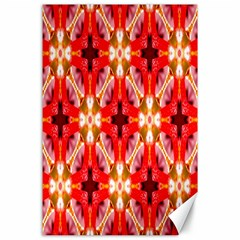 Cute Pretty Elegant Pattern Canvas 24  X 36  (unframed)