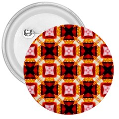 Cute Pretty Elegant Pattern 3  Button