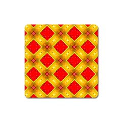 Cute Pretty Elegant Pattern Magnet (square)