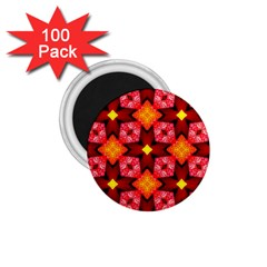 Cute Pretty Elegant Pattern 1 75  Button Magnet (100 Pack)