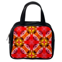 Cute Pretty Elegant Pattern Classic Handbag (one Side)
