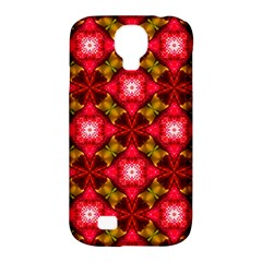 Cute Pretty Elegant Pattern Samsung Galaxy S4 Classic Hardshell Case (pc+silicone)