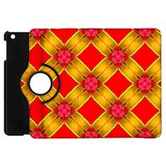 Cute Pretty Elegant Pattern Apple Ipad Mini Flip 360 Case