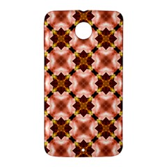 Cute Pretty Elegant Pattern Google Nexus 6 Case (White)