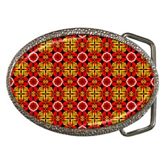 Cute Pretty Elegant Pattern Belt Buckle (Oval)