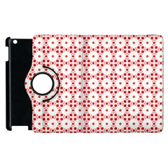 Cute Pretty Elegant Pattern Apple iPad 2 Flip 360 Case