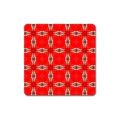 Cute Pretty Elegant Pattern Magnet (square)