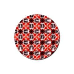 Cute Pretty Elegant Pattern Drink Coaster (round)