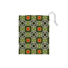 Cute Pretty Elegant Pattern Drawstring Pouch (Small)
