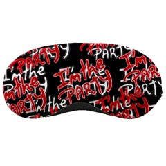 I Am The Party Text Quote Sleeping Mask