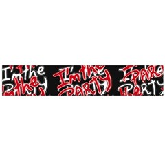 I Am The Party Text Quote Flano Scarf (large)