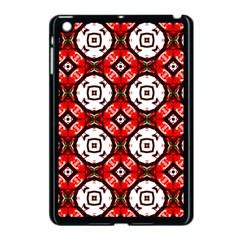 Cute Pretty Elegant Pattern Apple Ipad Mini Case (black)
