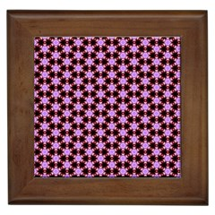 Cute Pretty Elegant Pattern Framed Ceramic Tile