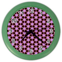 Cute Pretty Elegant Pattern Wall Clock (color)