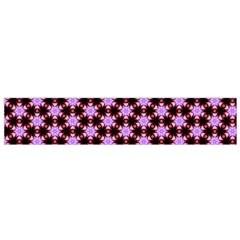 Cute Pretty Elegant Pattern Flano Scarf (small)