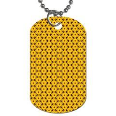 Cute Pretty Elegant Pattern Dog Tag (one Sided)
