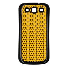 Cute Pretty Elegant Pattern Samsung Galaxy S3 Back Case (black)