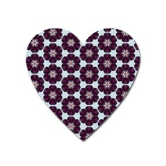 Cute Pretty Elegant Pattern Magnet (heart)
