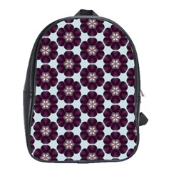 Cute Pretty Elegant Pattern School Bag (large)