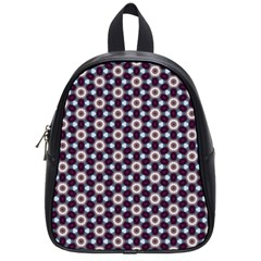 Cute Pretty Elegant Pattern School Bag (small)